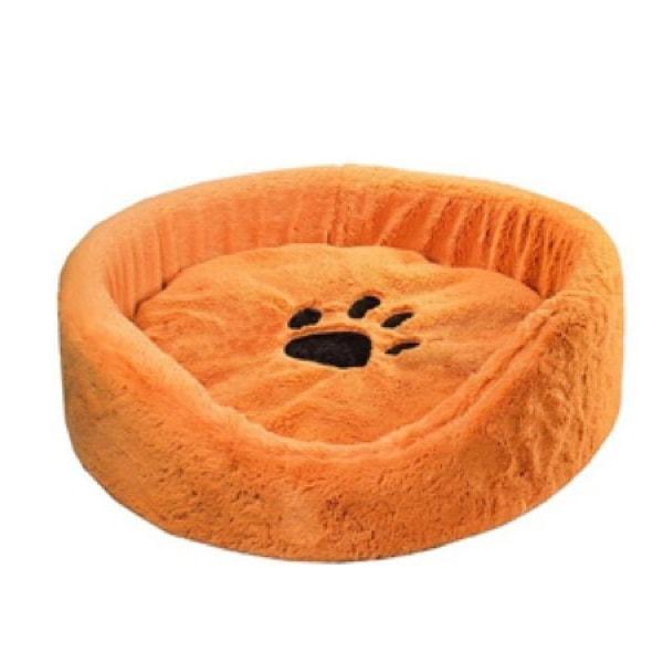 Лежак для кошек и собак Дарэлл круглый рыжий