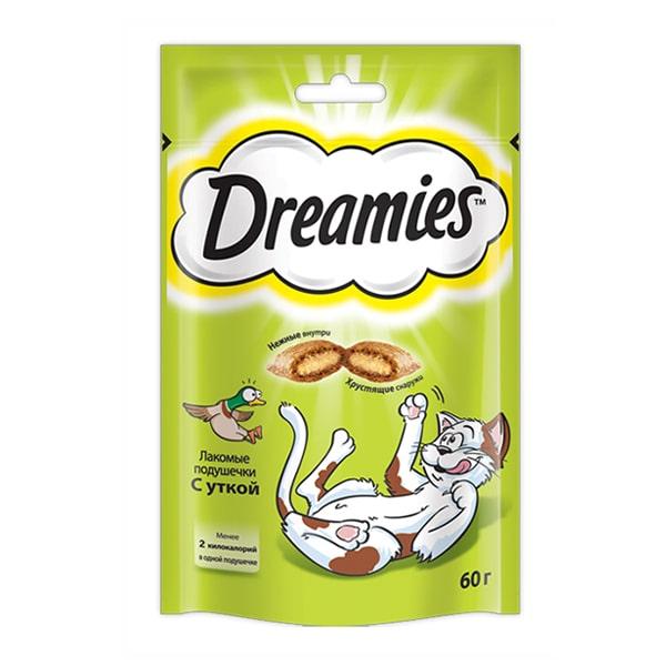 Лакомство для кошек Дримис (DREAMIES) Утка