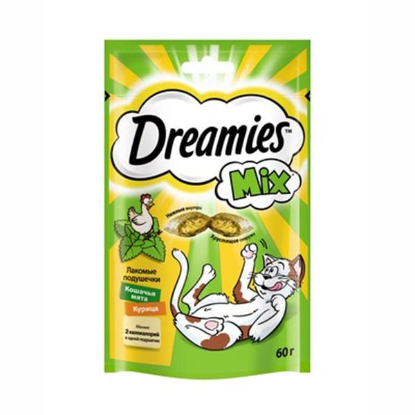 Лакомство для кошек Дримис (DREAMIES) Курица и мята