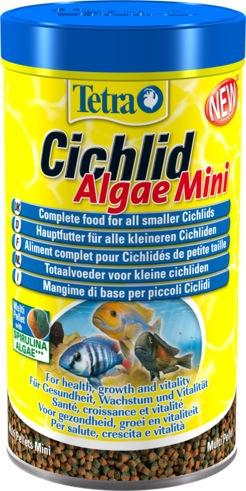 Корм для всех видов цихлид TETRA Cichlid Algae Mini 500мл