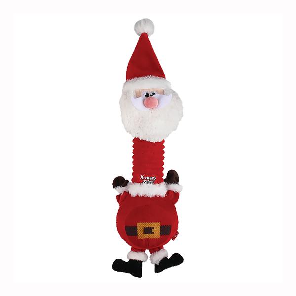 Игрушка для собак мягкая GiGwi Санта новогодний
