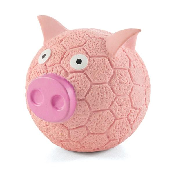 Игрушка для собак свинка-мяч Triol (триол) d85мм