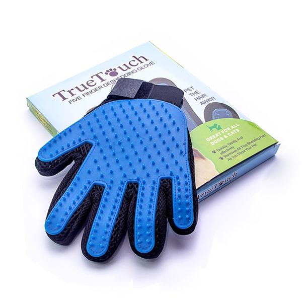 Перчатка для вычесывания шерсти домашних животных OSSO