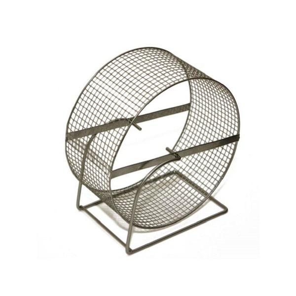 Колесо для грызунов металлическое диаметр 140 мм  с сеткой Дарэлл