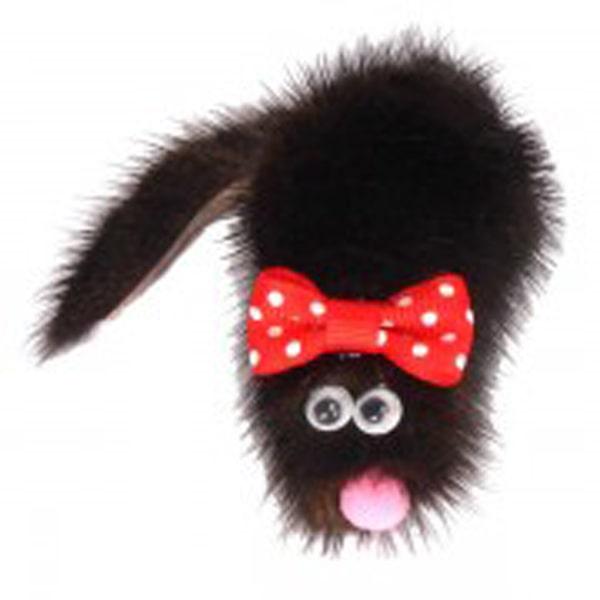 Игрушка для кошек Мышь из норки М Микки GoSi на картоне с еврослотом