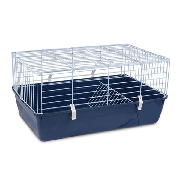 Клетка для кроликов №2011 эмалированная TRIOL 67*42*33