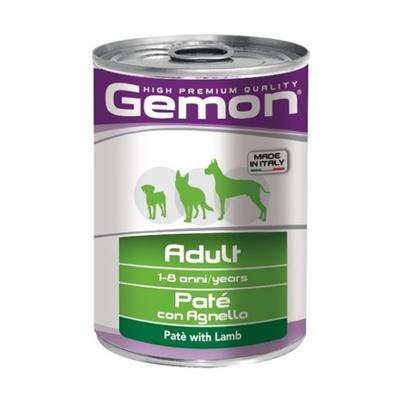 Влажный корм для собак GEMON (Гемон), ягненок, 400 гр