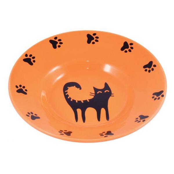 Миска для кошек керамическая-блюдце Керамик Арт 140 мл