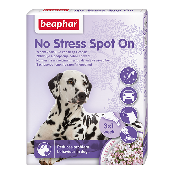 Капли успокаивающие для собак Беафар No Stress Spot On 3 пипетки