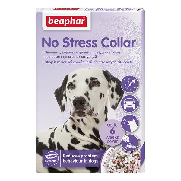 Ошейник успокаивающий для собак Беафар No Stress Collar 65см