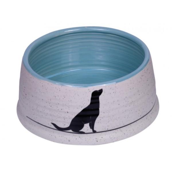 Миска для собак Nobby 15,5х6,5 см керамика с рисунком LUNA