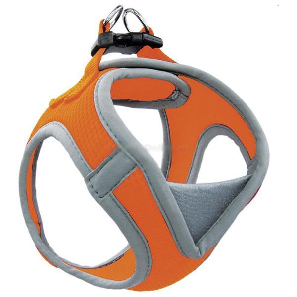 Шлейка-жилетка для собак мягкая Triol S обхват груди 360-410мм