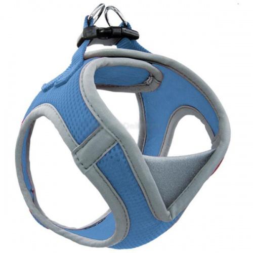 Шлейка-жилетка для собак Triol мягкая М обхват груди 410-460мм