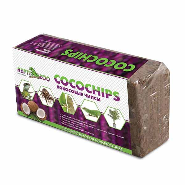 Кокосовая щепа в брикетах Repti-ZOO 500г