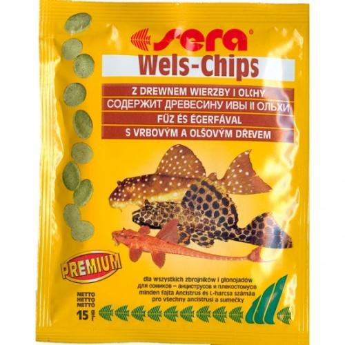 Чипсы для сомиков Wels-chips SERA 15 г