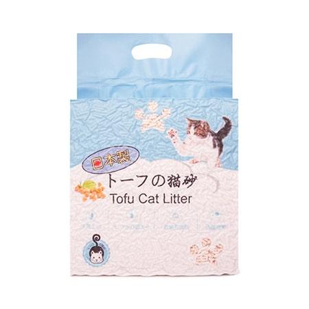 Наполнитель для кошачьего туалета HAKASE AREKKUSU тофу
