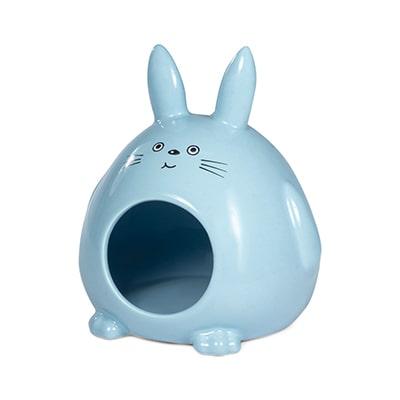Домик для мелких животных керамический Кролик, 130x115x145мм