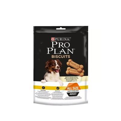 Лакомство для собак ПроПлан (Pro Plan) бисквит кур/рис