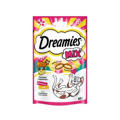 Лакомство для кошек Дримис (DREAMIES) Говядина/Сыр