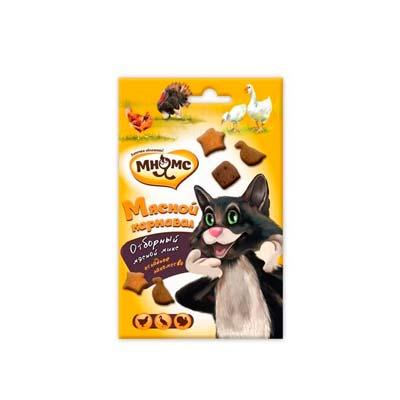 Лакомство для кошек Мнямс Лакомые палочки (Мясной карнавал), Индейка и ягненок