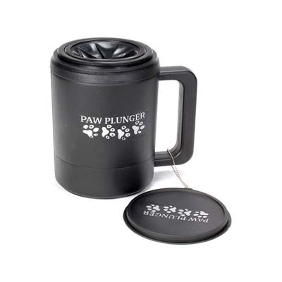 Лапомойка для собак Paw plunger, черная