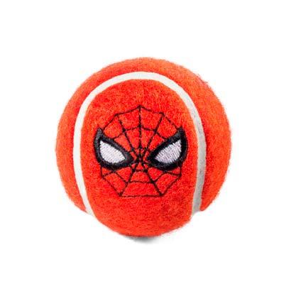 Игрушка для собак мяч Marvel Человек Паук Triol, 70мм