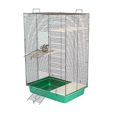Клетка для шиншилл ЕСО разборная 3 этажа 58х40х90см