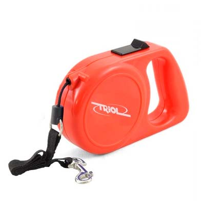 Рулетка для собак Триол (triol) трос 5м, до 10 кг