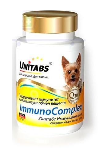 Ежедневные витамины для собак мелких пород Юнитабс (Unitabs)