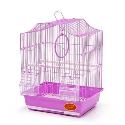 Клетка для птиц Золотая клетка, 35х28х43 cм