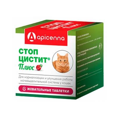 Таблетки от цистита для кошек