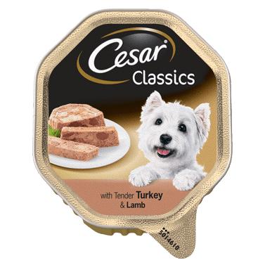 Паштет для собак мелких пород индейка-ягненок CESAR 150г
