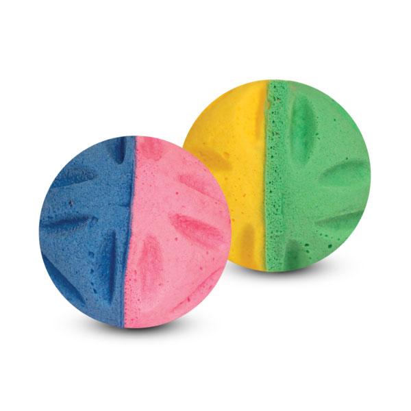 Мяч цветочный двухцветный (1шт) Triol