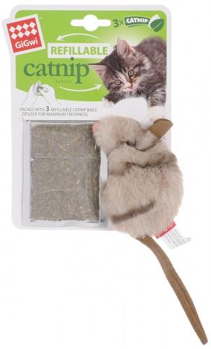 Мышка с кошачьей мятой Гиви