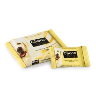 Лакомство для собак Choco Dog (ШОКО ДОГ) белый шоколад