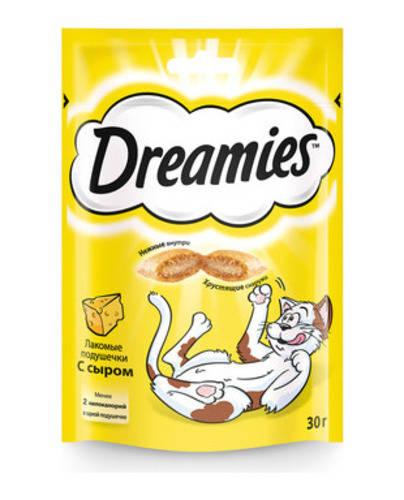 Лакомство для кошек Дримис (DREAMIES) Сыр