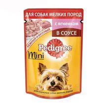 Влажный корм для собак мелких пород Педигри (Pedigree) мини Ягненок