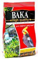 Корм для средних попугаев ВАКА High Quality 500г
