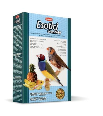 Корм для экзотических птиц Падован основной Грандмикс 400г