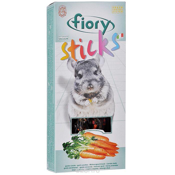 Лакомство для шиншилл Палочки ФИОРИ (Fiory) Морковь